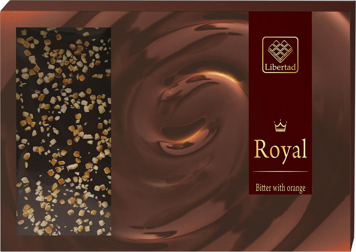 Шоколад Libertad Royal Горький с апельсином, 2,3 кг цена