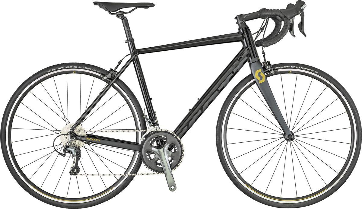 Велосипед шоссейный Scott Speedster 20, 269894, черный, размер рамы M/54