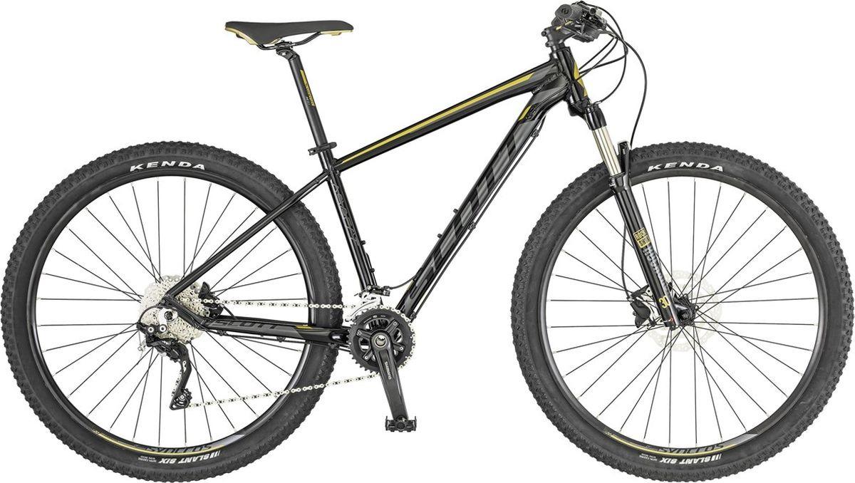 Велосипед горный Scott Aspect 910, 269787, черный, размер рамы L