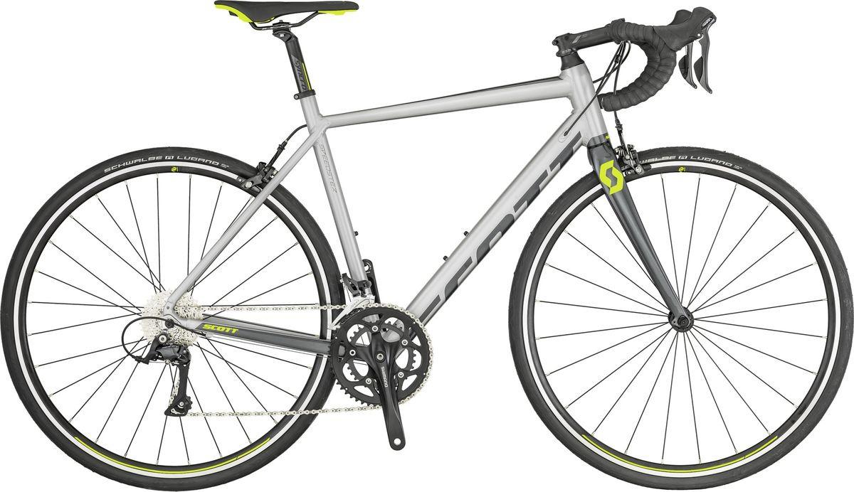 Велосипед шоссейный Scott Speedster 30, 269895, серый, размер рамы M/54