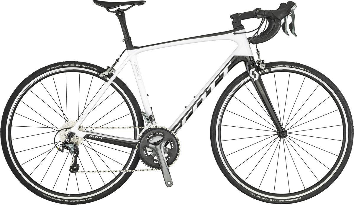 цена на Велосипед шоссейный Scott ADDICT 30, 269882, белый, размер рамы M/54