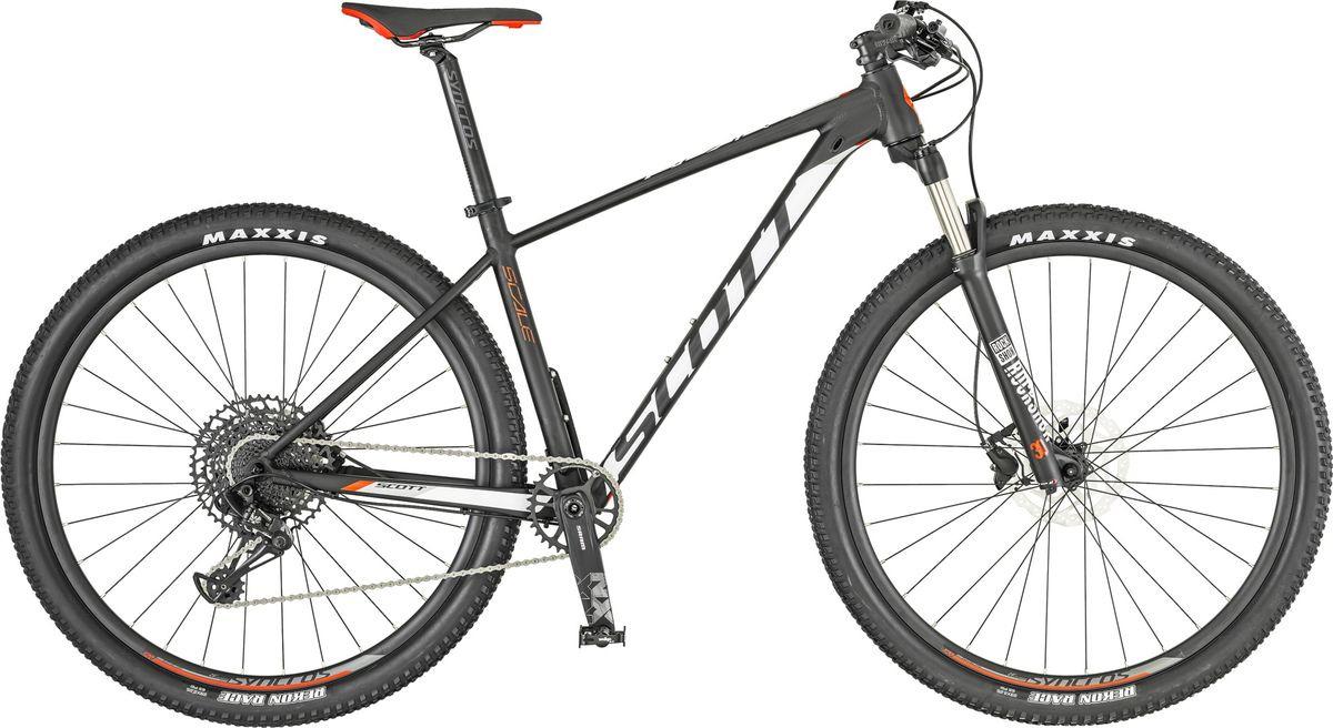 Велосипед горный Scott Scale 980, 269742, черный, белый, размер рамы L