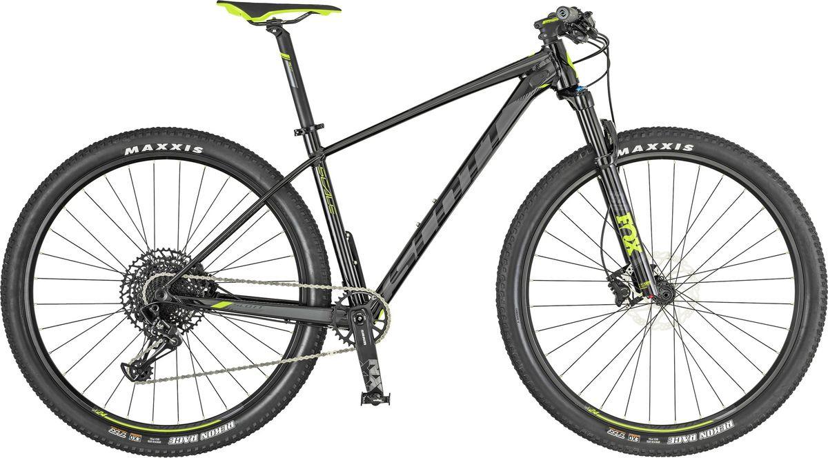 Велосипед горный Scott Scale 950, 269738, черный, размер рамы L