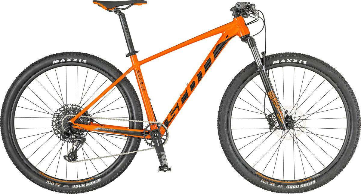 Велосипед горный Scott Scale 960, 269739, оранжевый, размер рамы L