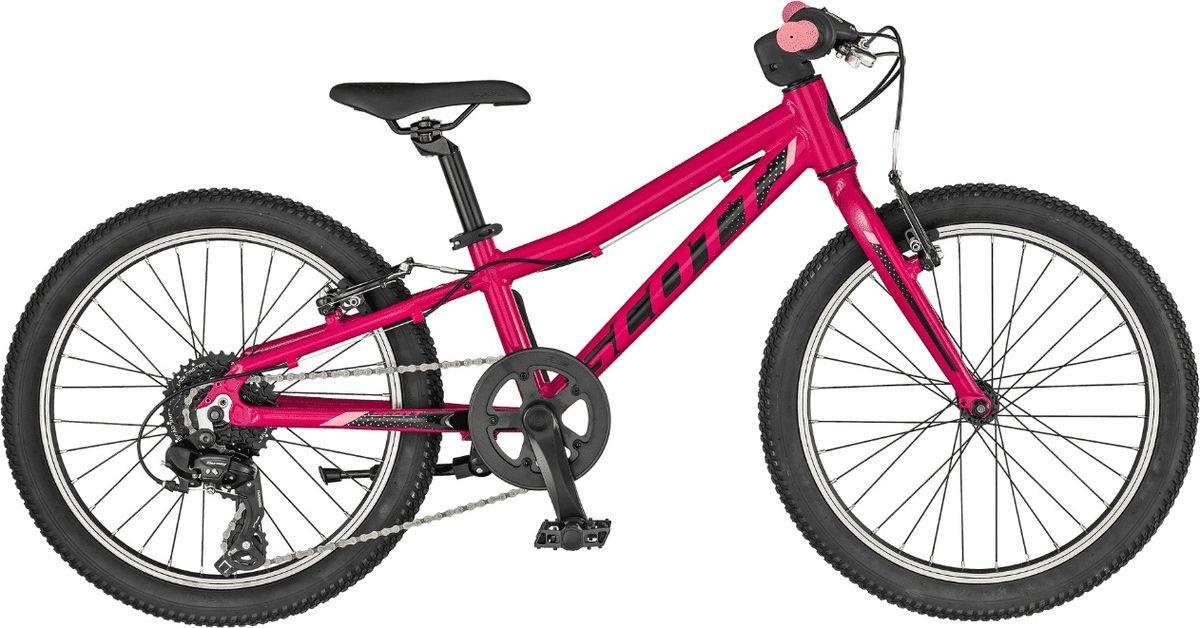 Велосипед детский Scott Contessa 20, 270063, розовый, размер колеса 20 велосипед scott plasma 20 2015