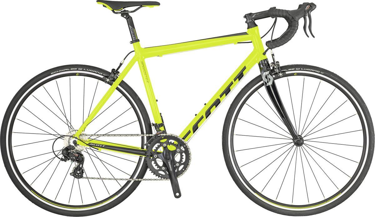 цена на Велосипед шоссейный Scott Speedster 50, 269897, желтый, размер рамы M/54