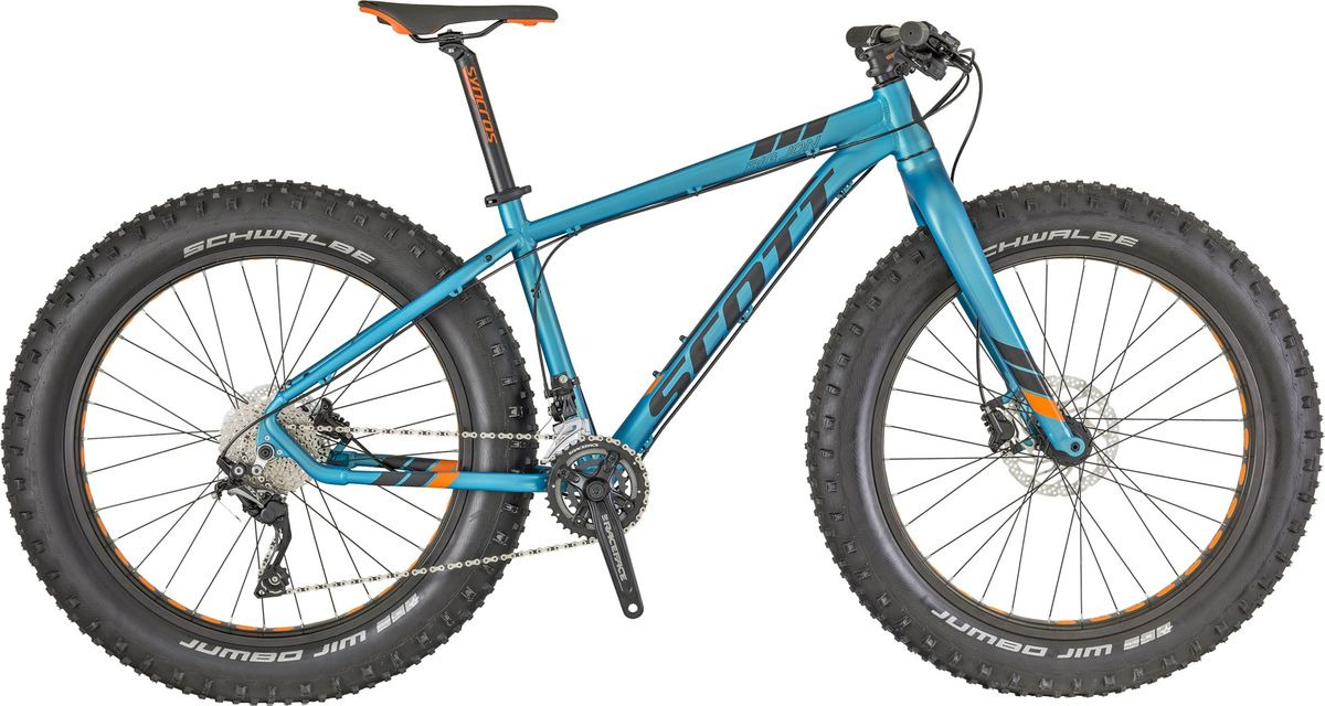 Велосипед горный Scott Big Jon , 269744, голубой, размер рамы L велосипед scott plasma 20 2015