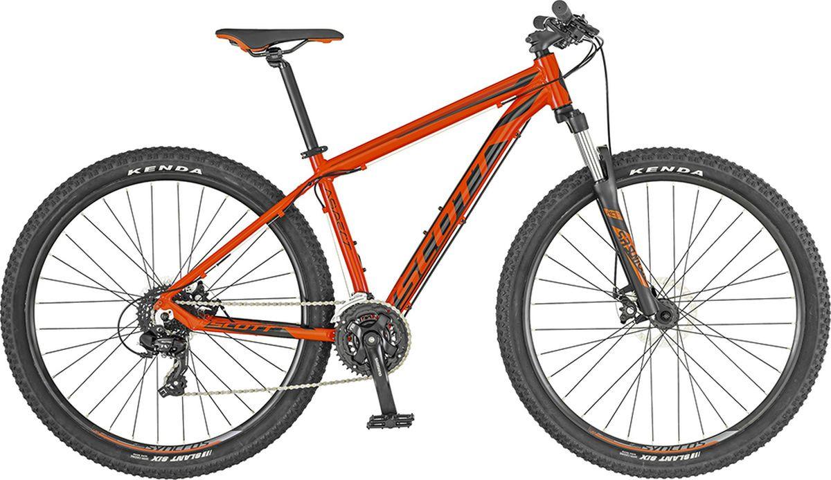 Велосипед горный Scott Aspect 970, 269809, красный, размер рамы XL