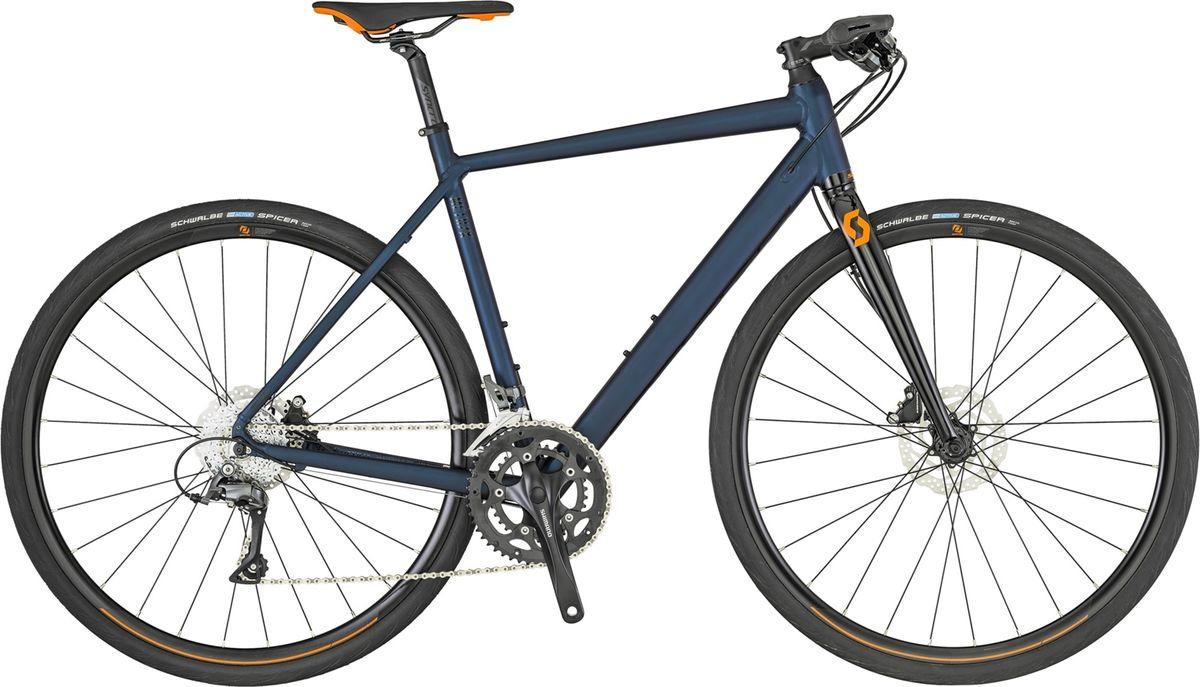 Велосипед городской Scott Metrix 30, 269900, синий, размер рамы L/56