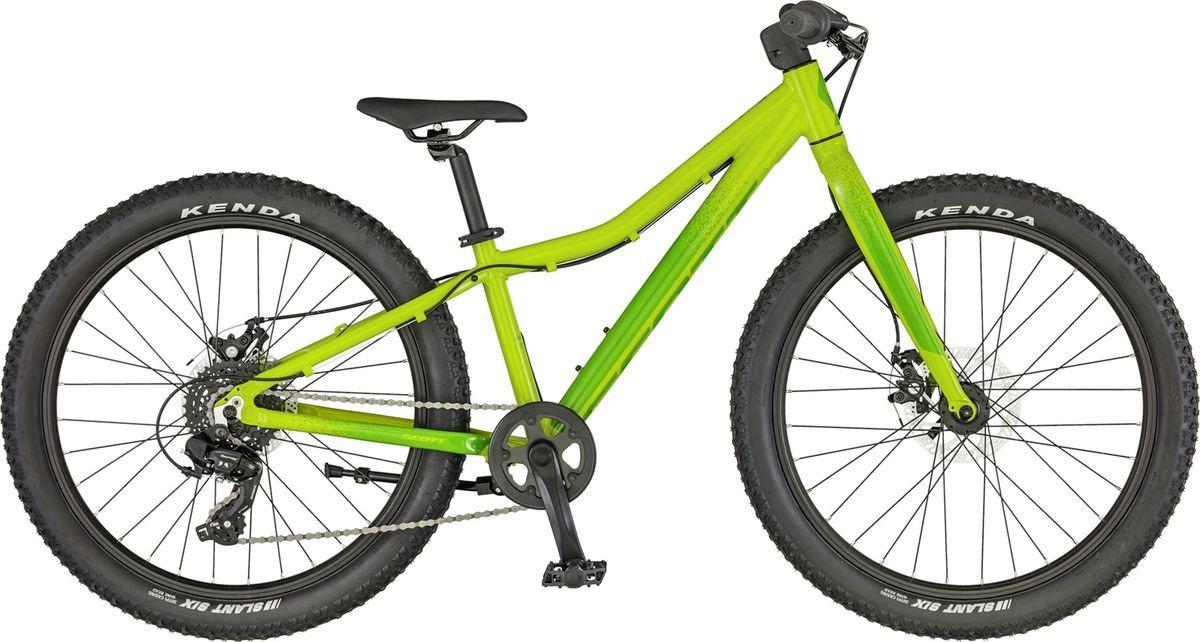 Велосипед детский Scott Roxter 24, 270057, зеленый, размер колеса 24