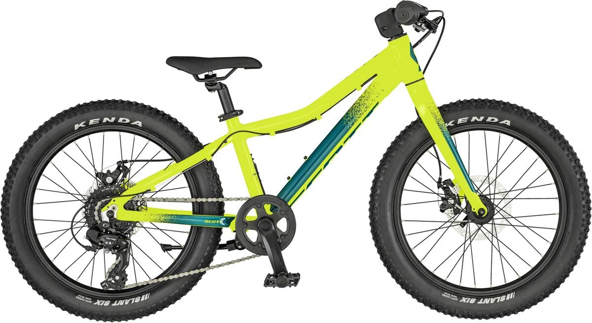 Велосипед детский Scott Roxter 20, 270064, желтый, размер колеса 20