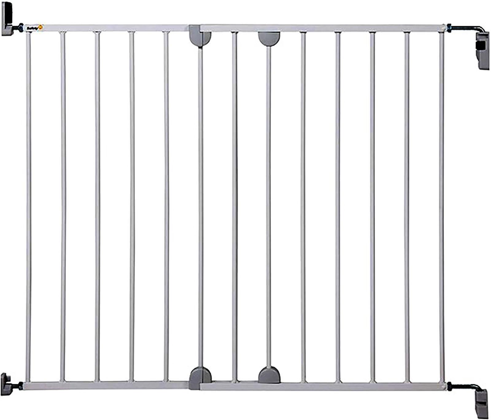 Барьер Safety 1st Wall-Fix Extending Metal, 62-102 см белый барьер safety 1st барьер safety 1st 24530010 24530010 серый