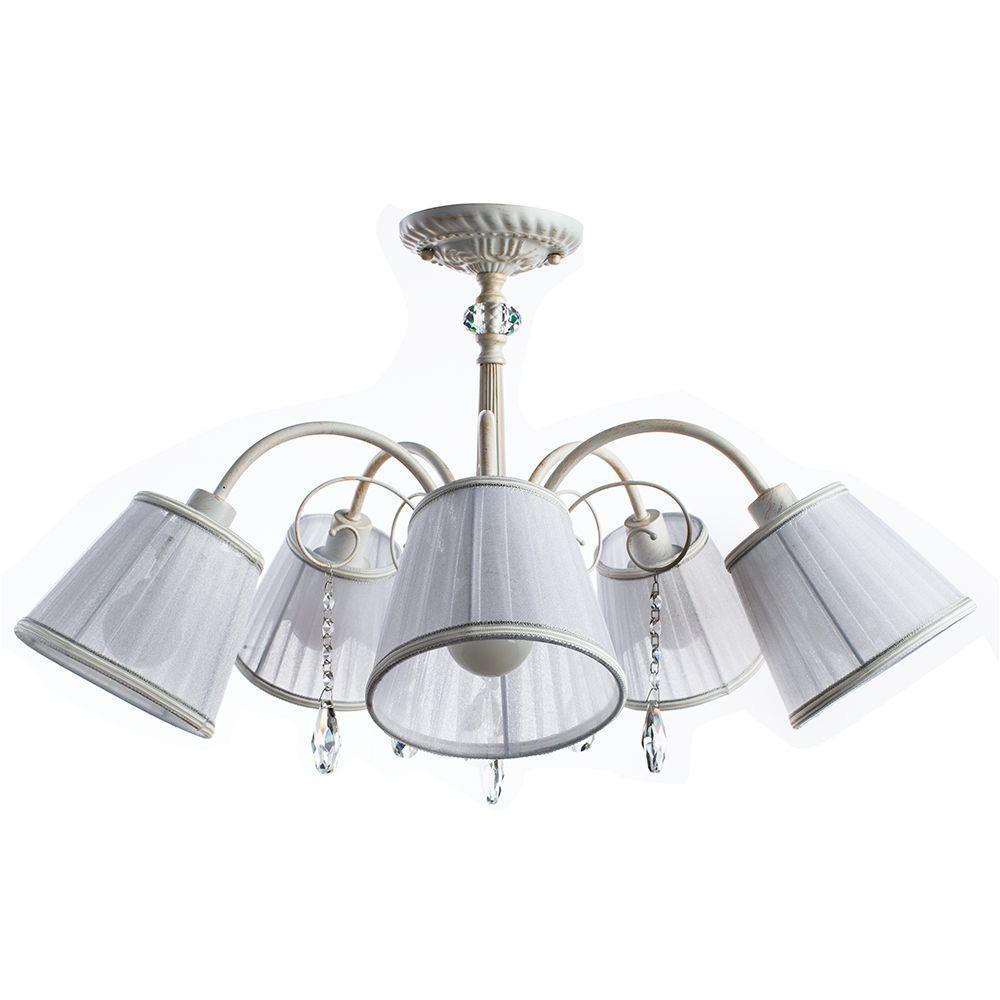 купить Потолочный светильник Arte Lamp A9515PL-5WG, белый по цене 9950 рублей