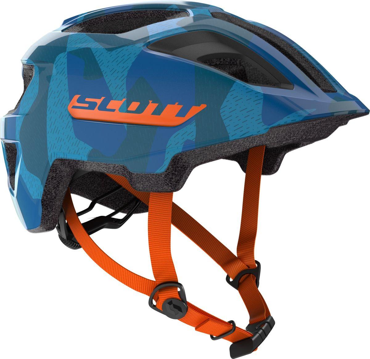 все цены на Шлем защитный Scott Spunto Junior, 270112-1454, оранжевый онлайн
