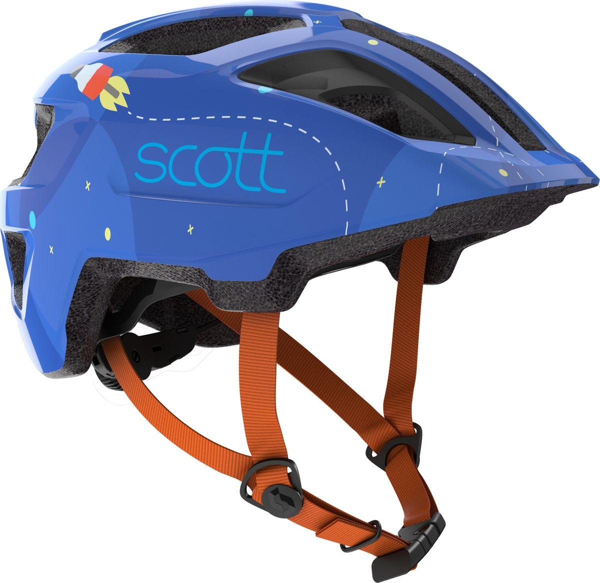 все цены на Шлем защитный Scott Spunto Kid, 270115-1454, оранжевый онлайн