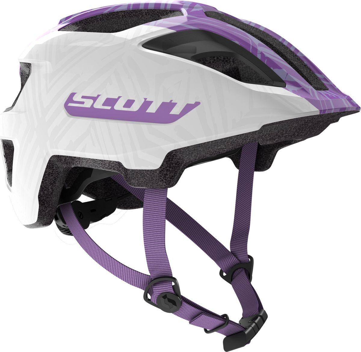 Шлем защитный Scott Spunto Junior, 270112-2320, фиолетовый цена