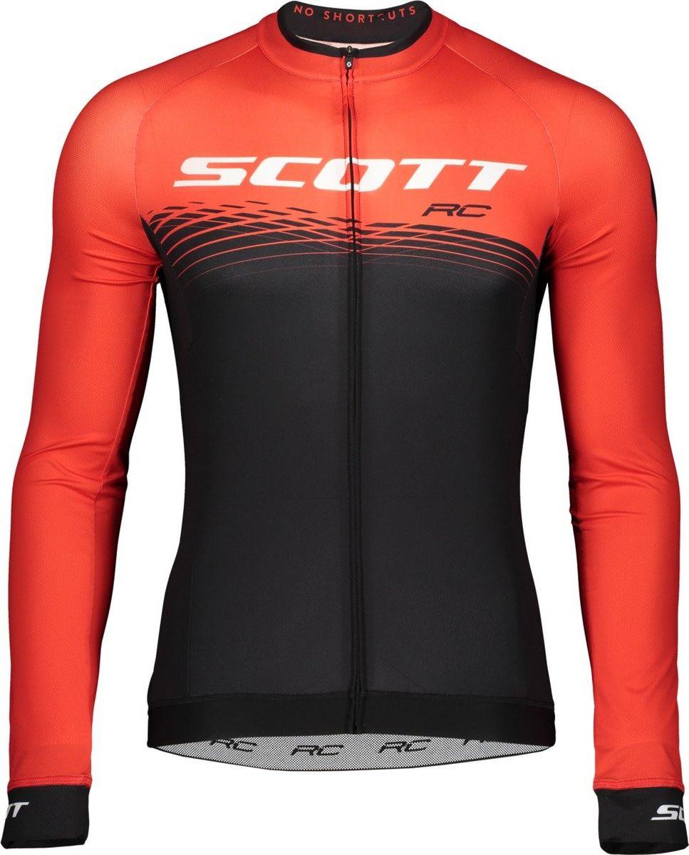 Велокуртка мужская Scott Shirt M's RC Pro l/sl, 270448-3074, красный, размер XXL (58)
