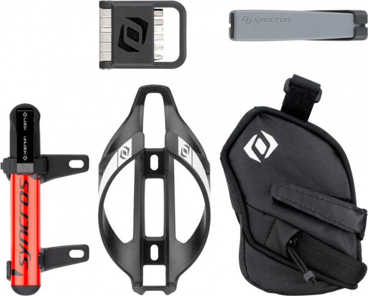 Набор инструментов Syncros Roadie, 241906-0001222, черный аксессуар syncros tailor cage 2 0 left