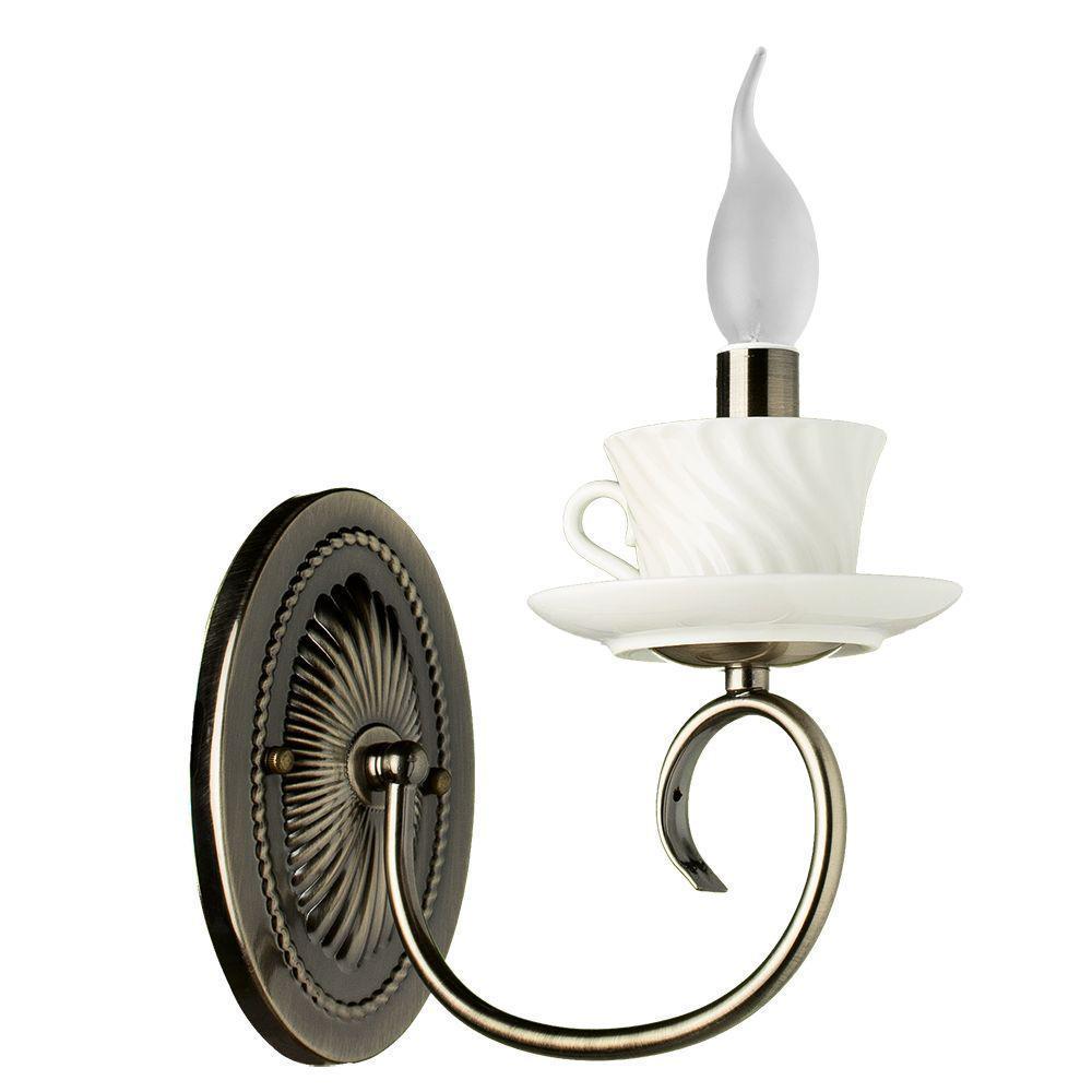 Бра Arte Lamp A6380AP-1AB, белый