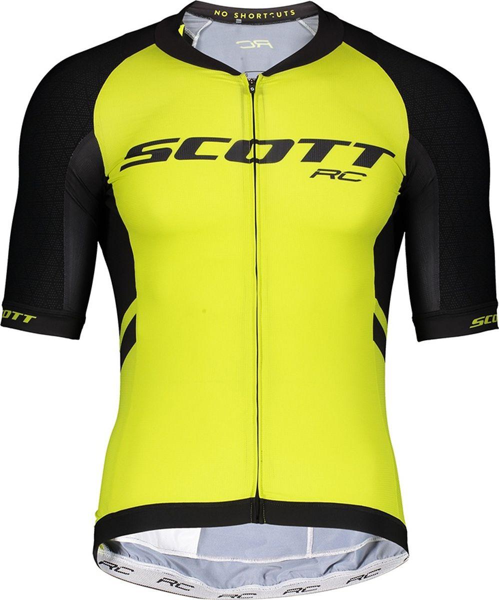 Веломайка мужская Scott Shirt Ms RC Premium ITD s/sl, 270441-5083, черный, размер L (50/52)