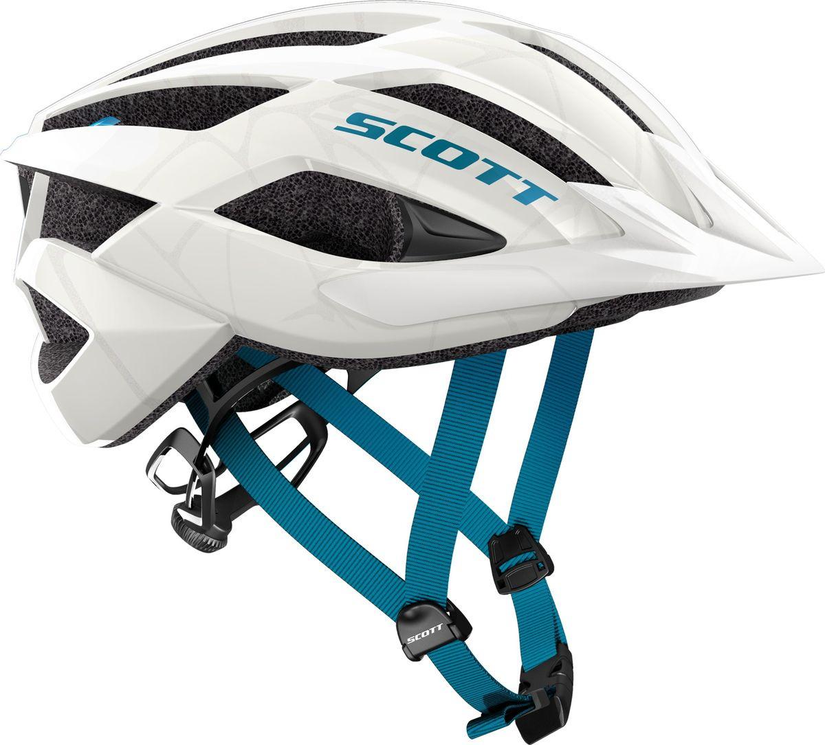 Шлем защитный Scott Arx MTB, 241254-2979, белый, размер M (55/59) цены