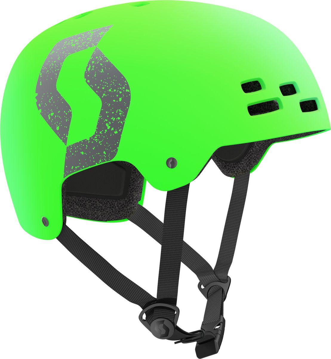 лучшая цена Шлем защитный Scott Jibe, 241260-0375, зеленый, размер S (55/56)