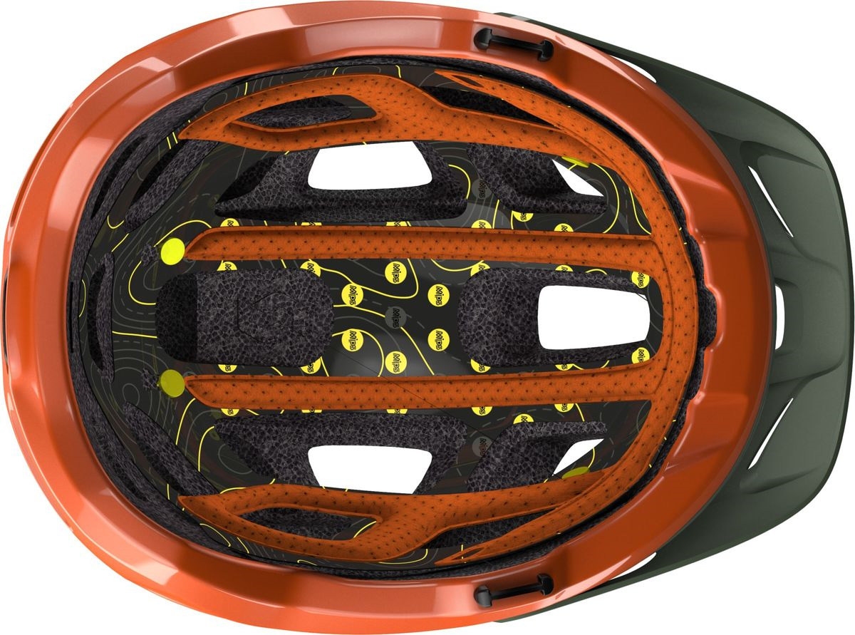 Шлем защитный Scott Vivo Plus, 241070-6154, оранжевый, размер M (55/59) Scott