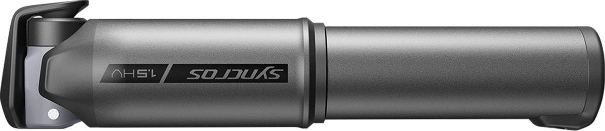 Велосипедный мини-насос Syncros Boundary 1.5HV, 270234-5576, черный, размер S270234-5576_S