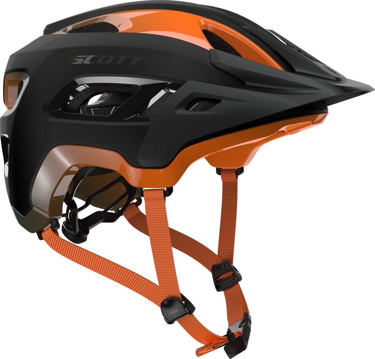 Шлем защитный Scott Stego, 227640-6154, оранжевый, размер M (55/59)