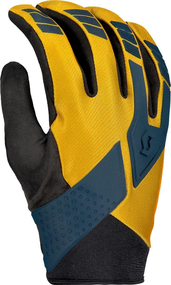 Велоперчатки Scott Enduro, 264750-6140, желтый, размер XL