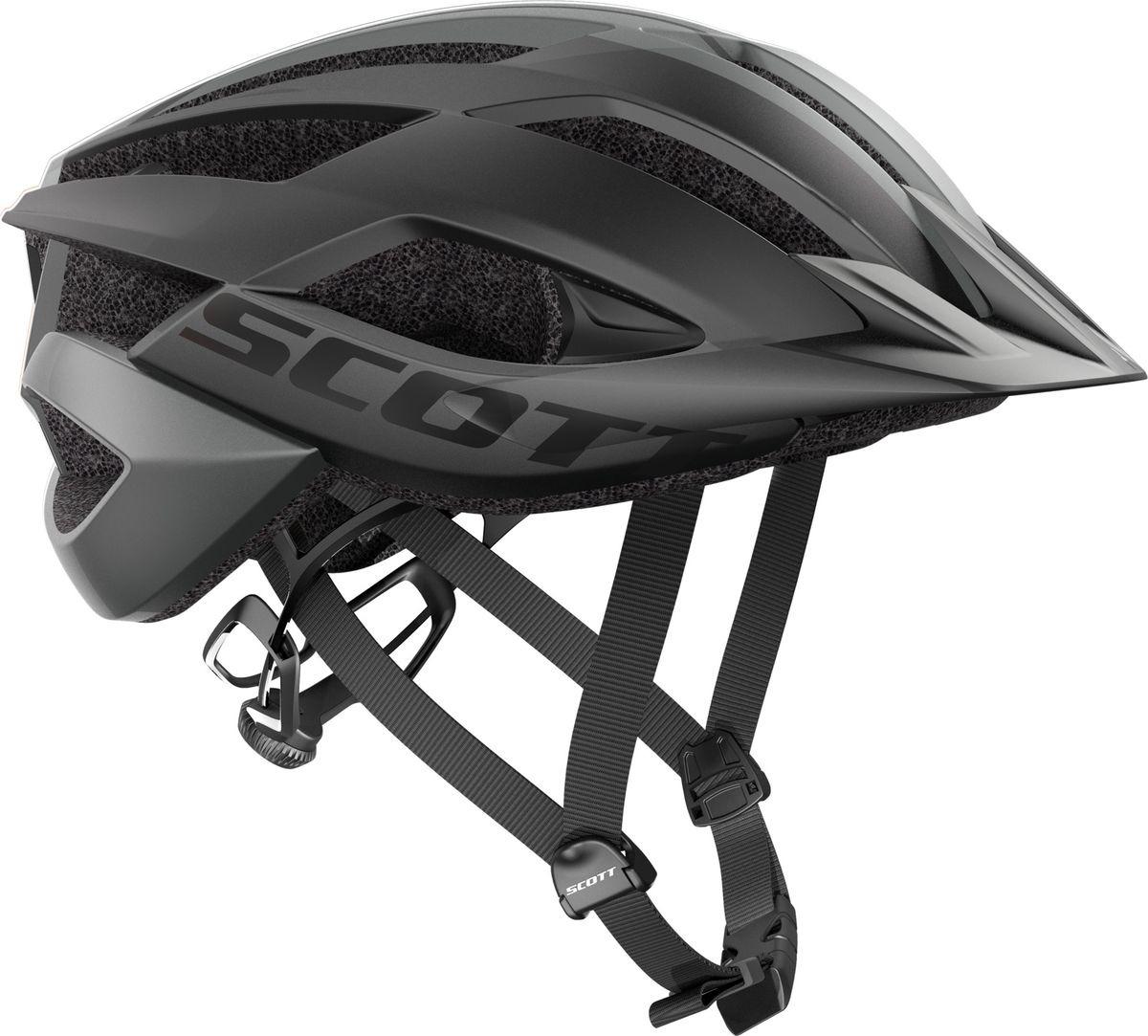 Шлем защитный Scott Arx MTB, 241254-0001, черный, размер S (51/55) цены