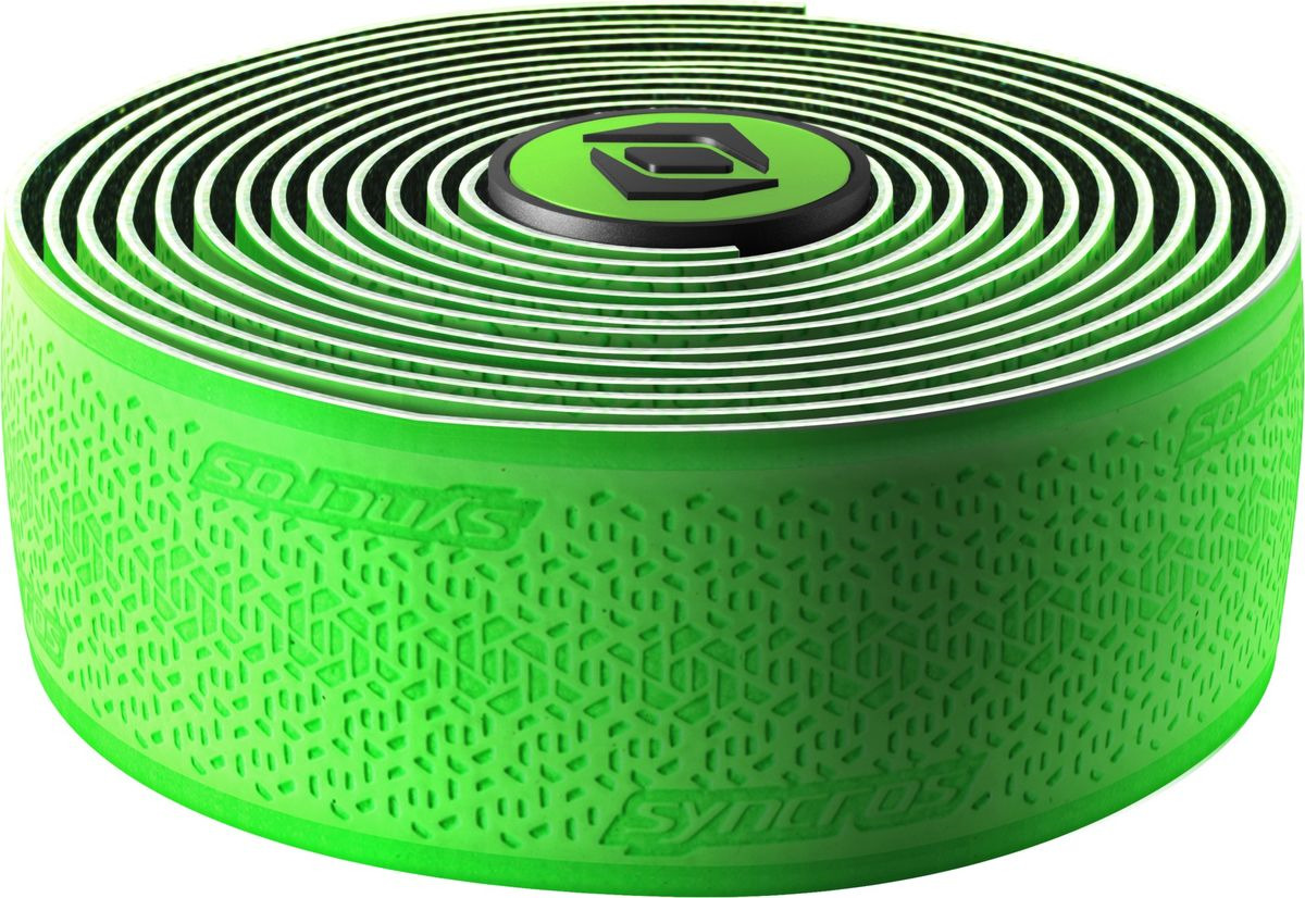 Обмотка руля Syncros Super Light, 265573, зеленый обмотка руля bbb race ribbon цвет зеленый