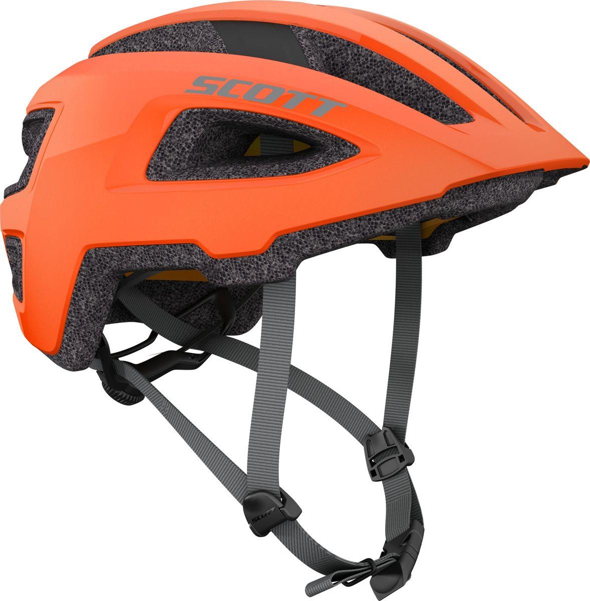 Шлем защитный Scott Groove Plus, 265532-5864, оранжевый, размер S/M