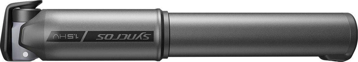Велосипедный мини-насос Syncros Boundary 1.5HV, 270234-5576, черный, размер M