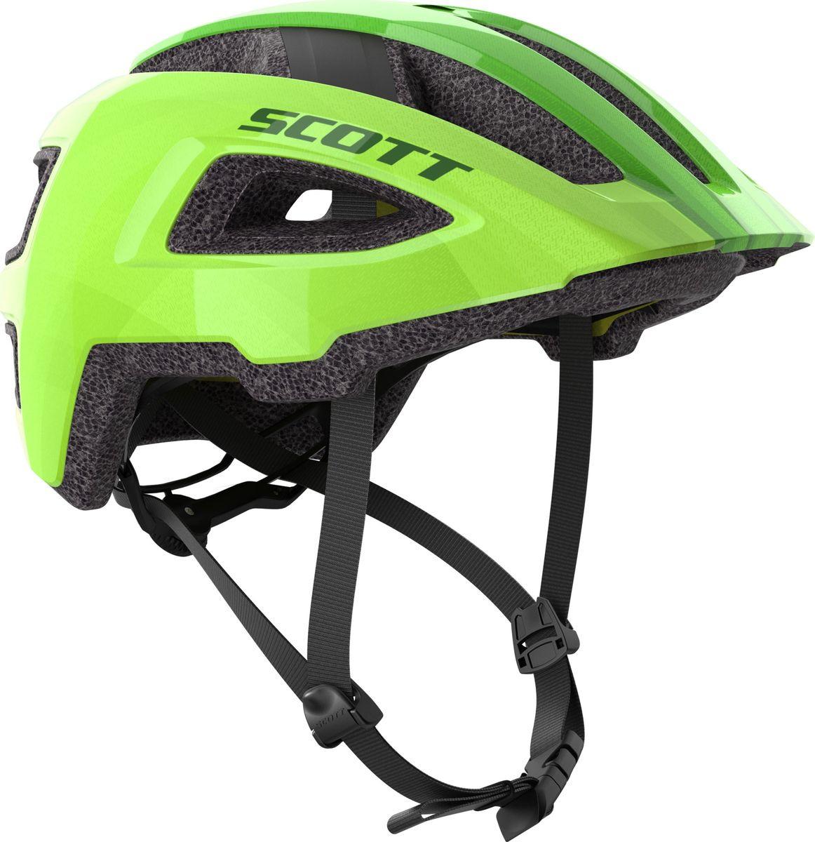 Шлем защитный Scott Groove Plus, 265532-0006, зеленый, размер S/M