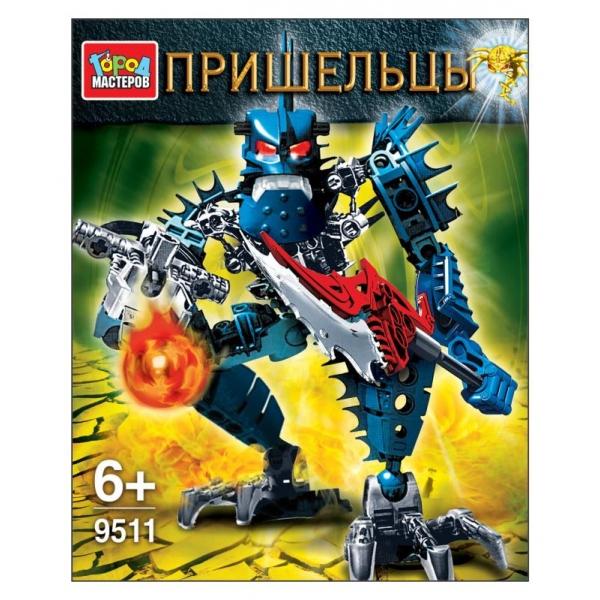 Пластиковый конструктор Город мастеров 9511-BL