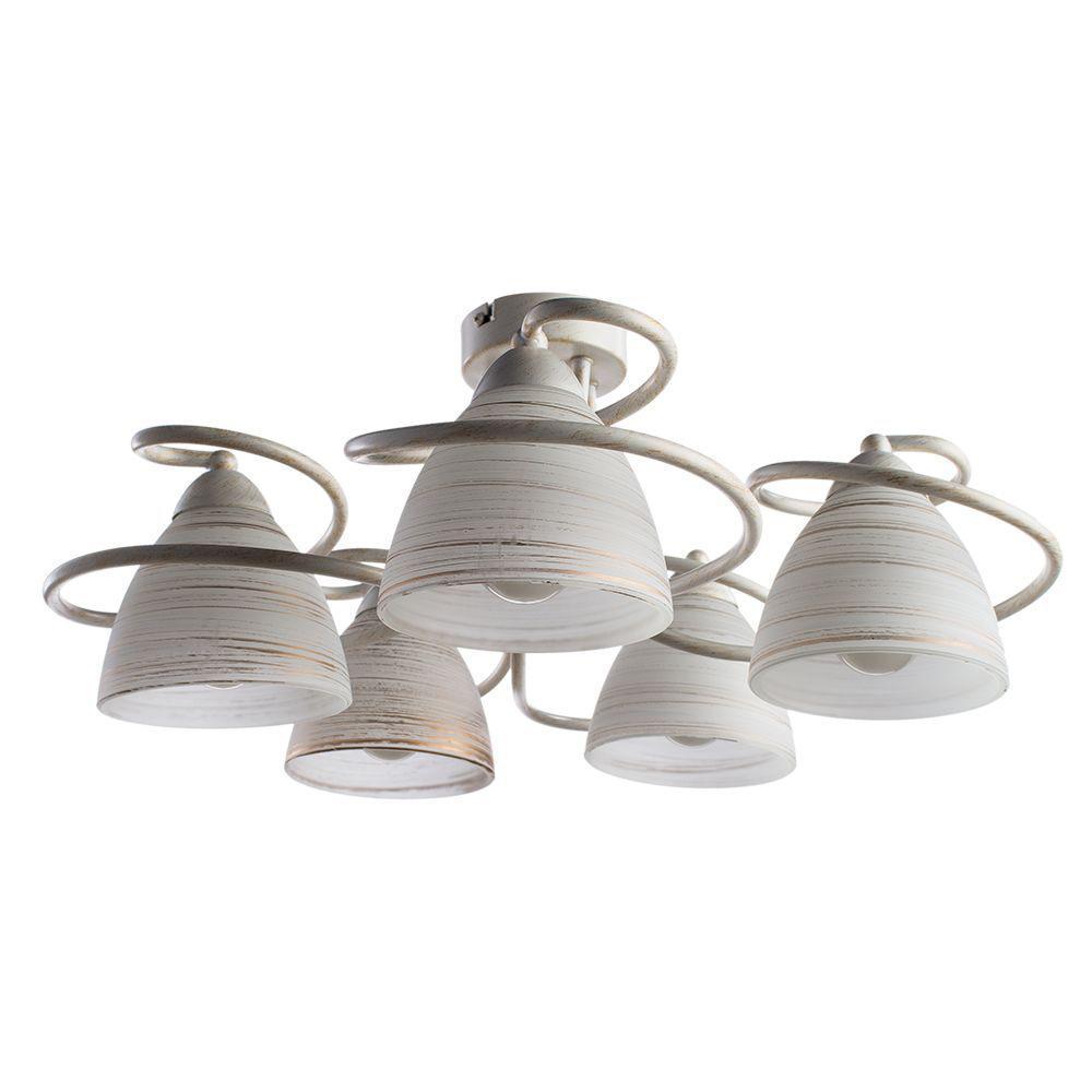 купить Потолочный светильник Arte Lamp A1565PL-5WG, белый по цене 7970 рублей