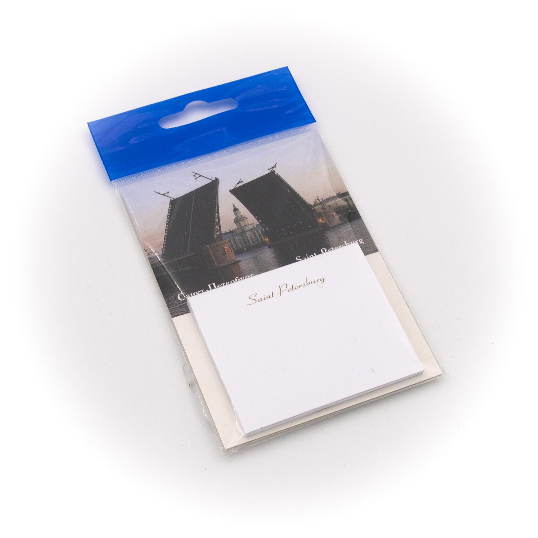 Бумага для заметок С Минимакс Дворцовый мост с кунсткамерой, 32 минимакс ежедневник на магните 7 5 18см дворцовый мост петропавловская крепость