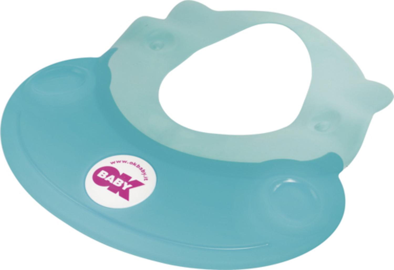 Козырек для мытья головы OK BABY HIPPO бирюзовый