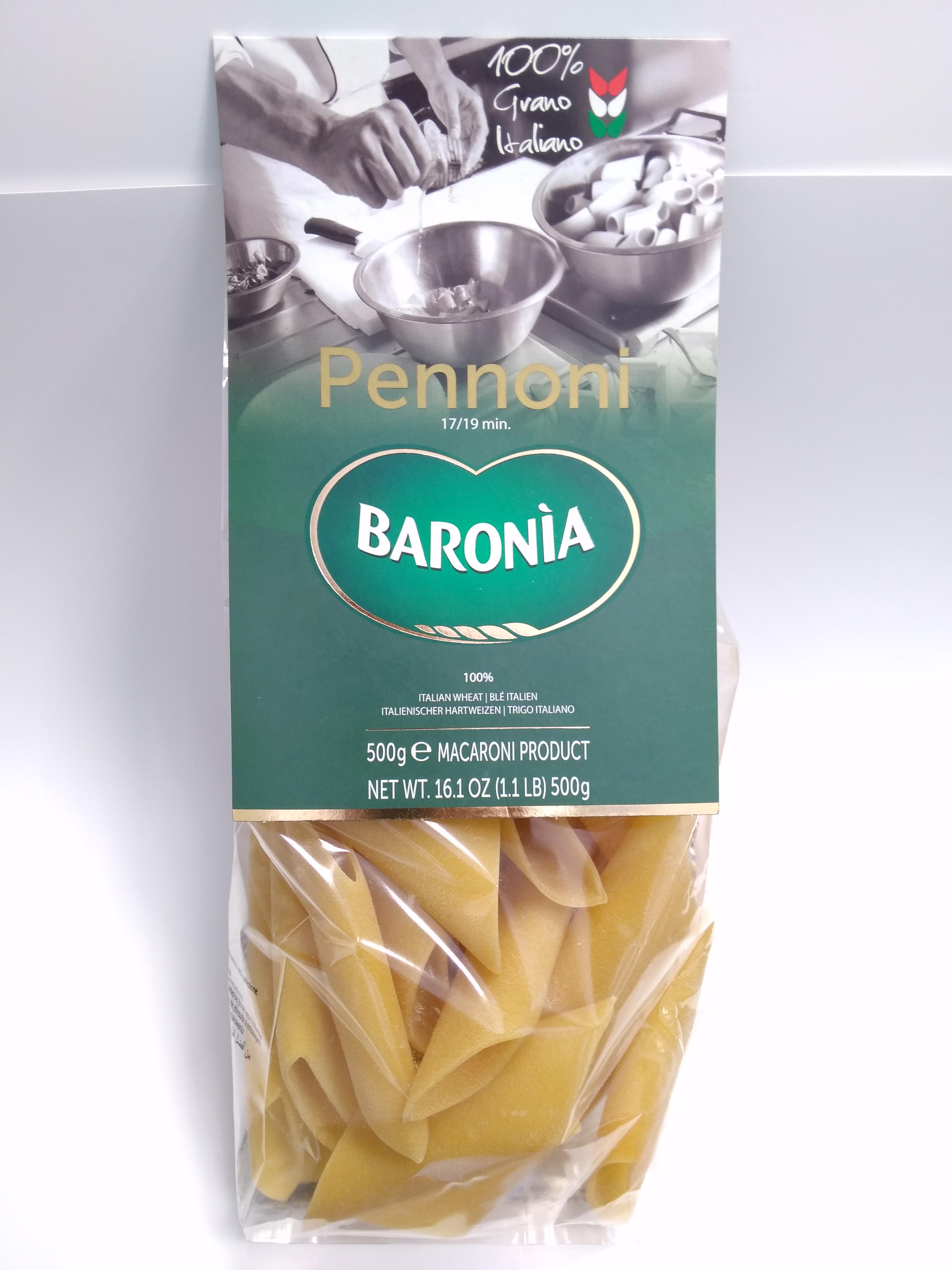 Макароны Baronia Pennoni Гиганти, 500