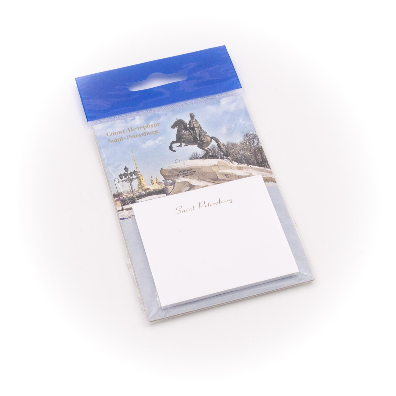 Бумага для заметок С Минимакс Медный всадник. Зима, 32 бумага для заметок с минимакс медный всадник зима 32