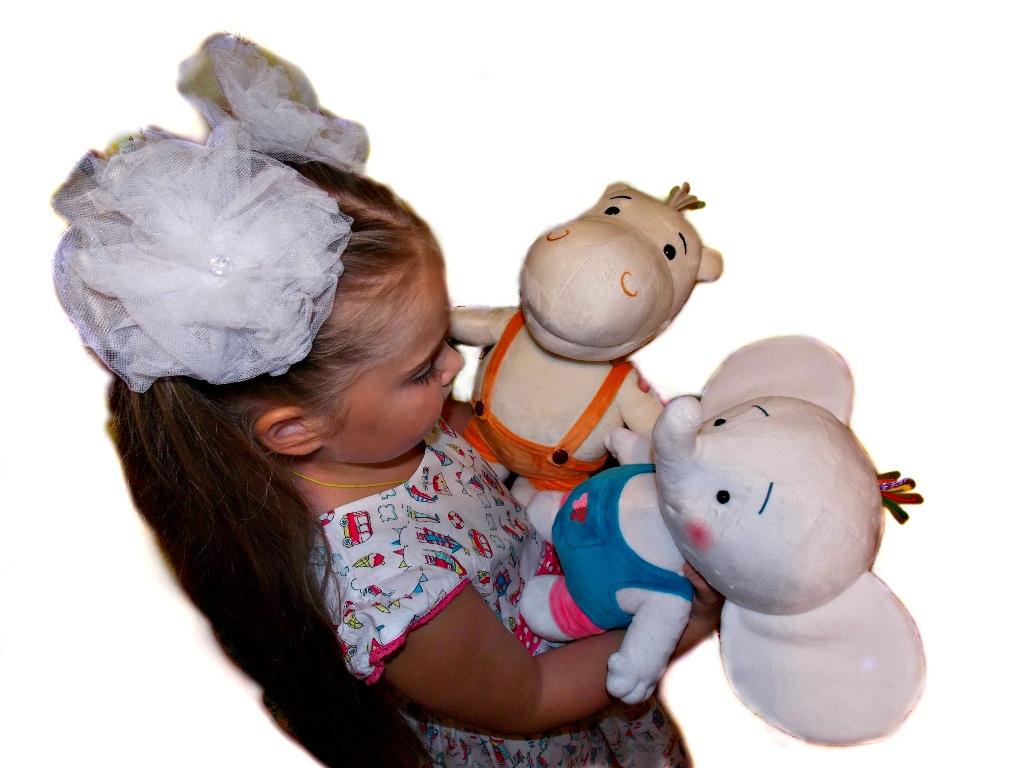 Мягкая игрушка Тима и Тома Слонёнок Тома тима и тома игровой набор в огороде