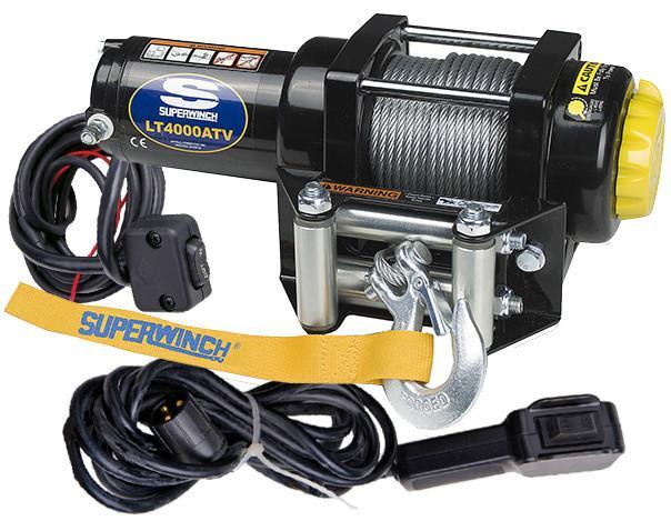 Автомобильная лебедка Superwinch LT4000, черный