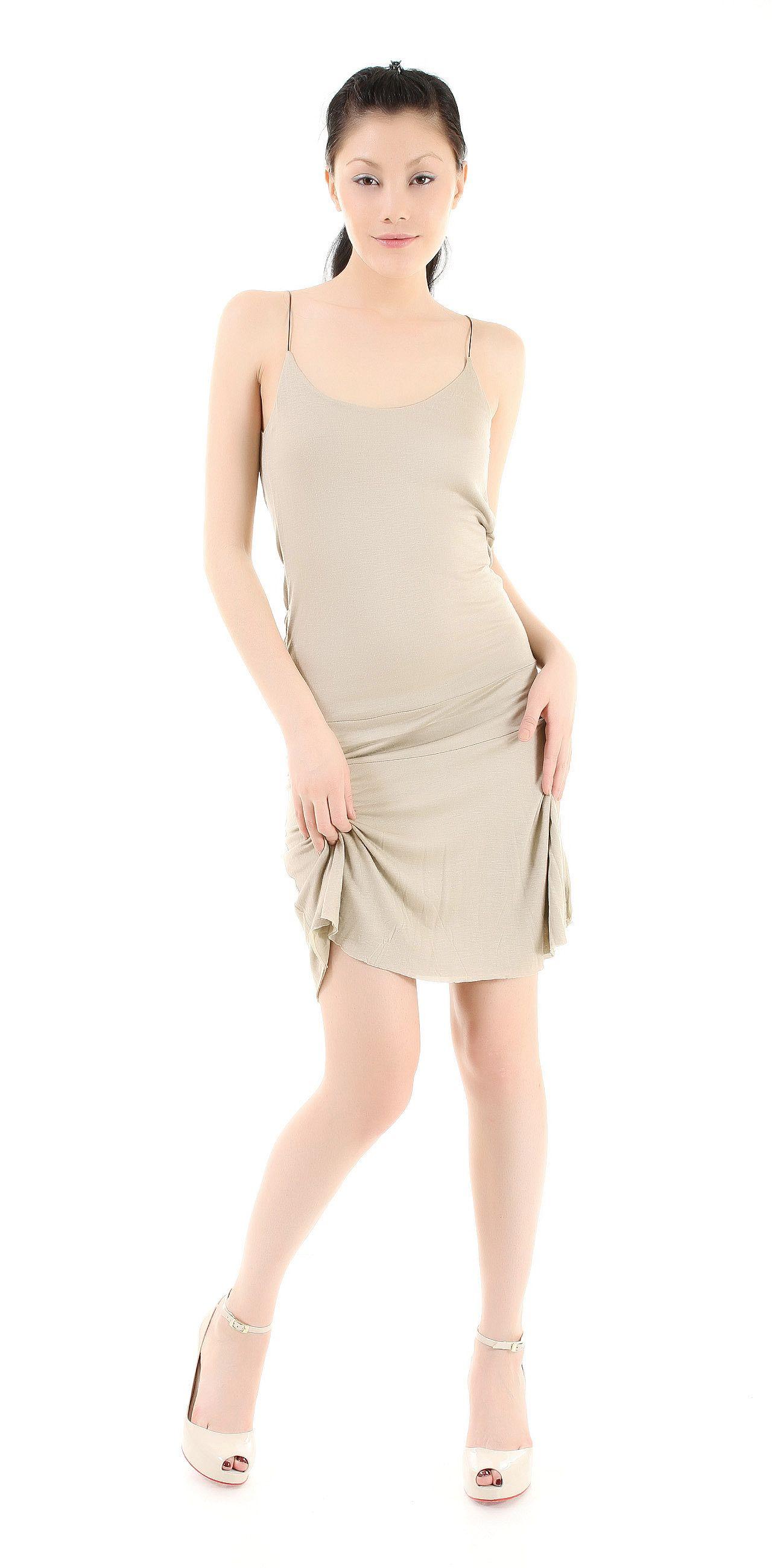 Платье NORTHLAND шерстяное платье на тонких бретелях