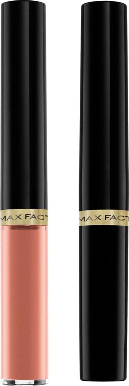 """Max Factor Стойкая губная помада и увлажняющий блеск """"Lipfinity"""", тон №006 (Always Delicate)"""