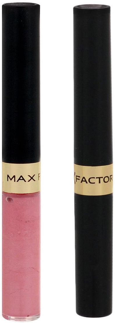 Max Factor Стойкая губная помада и увлажняющий блеск Lipfinity, тон №010 (Whisper), 2х3 мл81435666Суперустойчивая помада LIPFINITY – это сенсационный двухступенчатый макияж для губ, который разделяет функции стойкого цвета и увлажнения. Lipfinity включает в себя два продукта – элегантный тюбик с цветом и спонжем для удобного нанесения и суперувлажняющий блеск для губ. В течение дня Ваши губы сохраняют цвет, при необходимости достаточно лишь нанести увлажняющий блеск! Lipfinity- это стойкость и великолепные оттенки на любой вкус! Двухступенчатое нанесение: блеск для роскошного цвета для губ и бальзам для сияние увлажнения. Наноси бальзам регулярно в течение дня, чтобы сохранить свежесть цвета губ. 1. На сухие чистые губы нанести жидкий красящий пигмент специальной кисточкой. 2. Подождать 1 минуту, нанести увлажняющий блеск, который защитит нежную кожу губ от сухости и шелушения и придаст губам глянец. 3. Стойкая губная помада Lipfinity смывается любым средством для снятия макияжа, содержащим жировые компоненты.