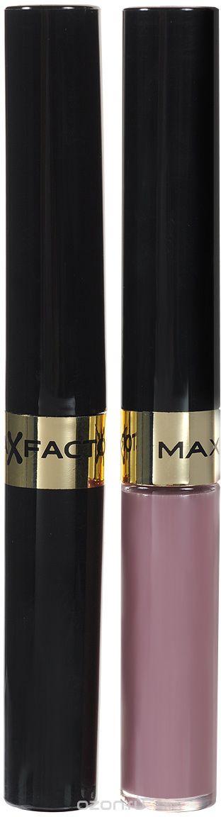 """Max Factor Стойкая губная помада и увлажняющий блеск """"Lipfinity"""", тон №015 Etheral"""