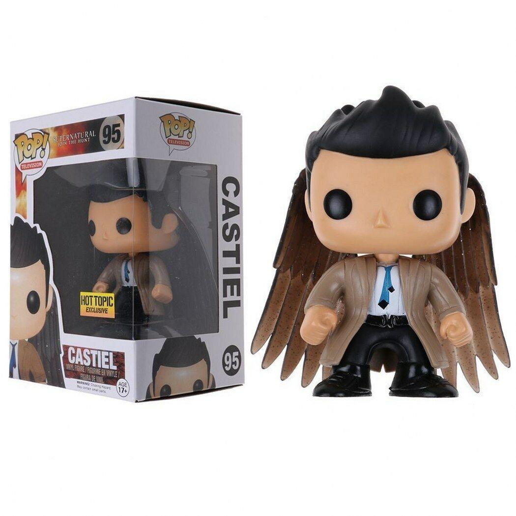 цена Фигурка Funko Pop Supernatural - Castiel (Кастиэль с крыльями) онлайн в 2017 году