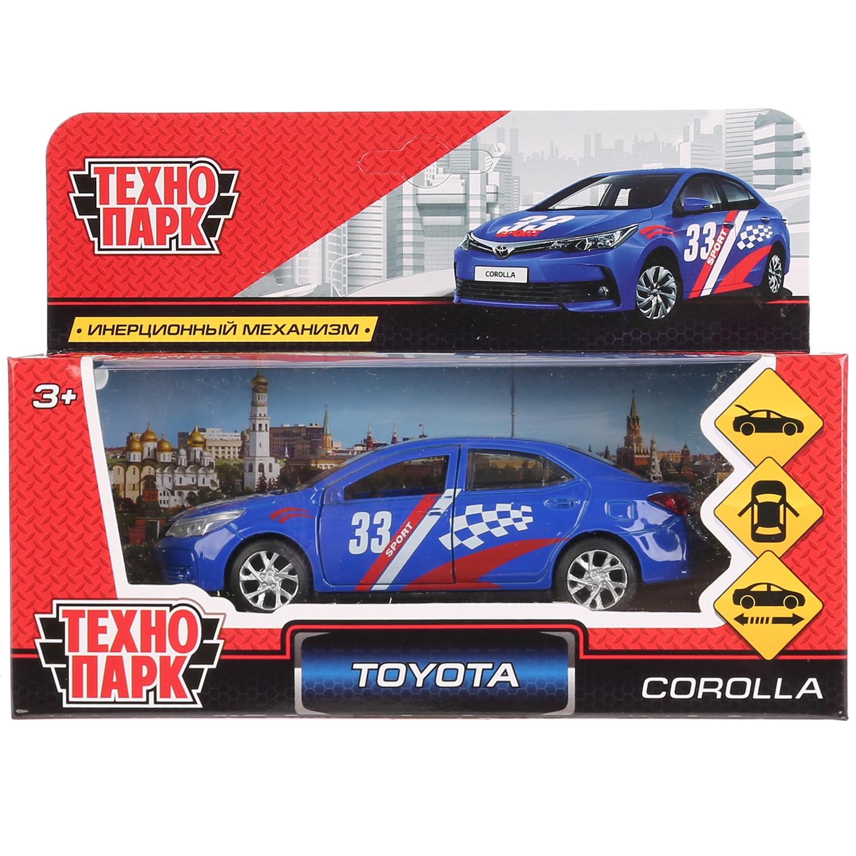 Машинка-игрушка Технопарк COROLLA-S машинка игрушка технопарк corolla p