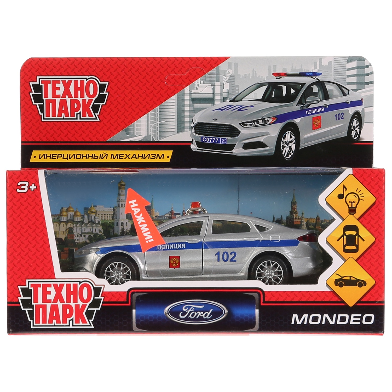 Машинка-игрушка Технопарк MONDEO-P-SL игрушка технопарк бронемашина fy6158 sl